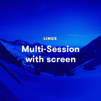 LinuxAcademy - Multi-Session with screen