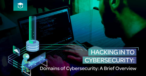 hacking in to cybersecurity: domains of cybersecurity: a brief overview