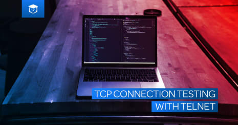 tcp connection testing with telnet