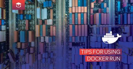 tips for using docker run