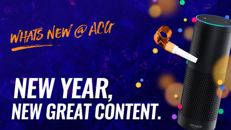 What new @ ACG - New Year New Great Content