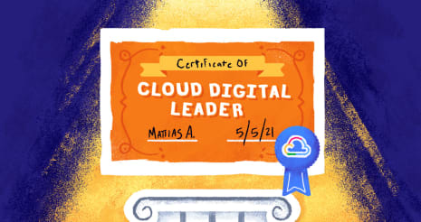 GCP Cloud Digital Leader blog header