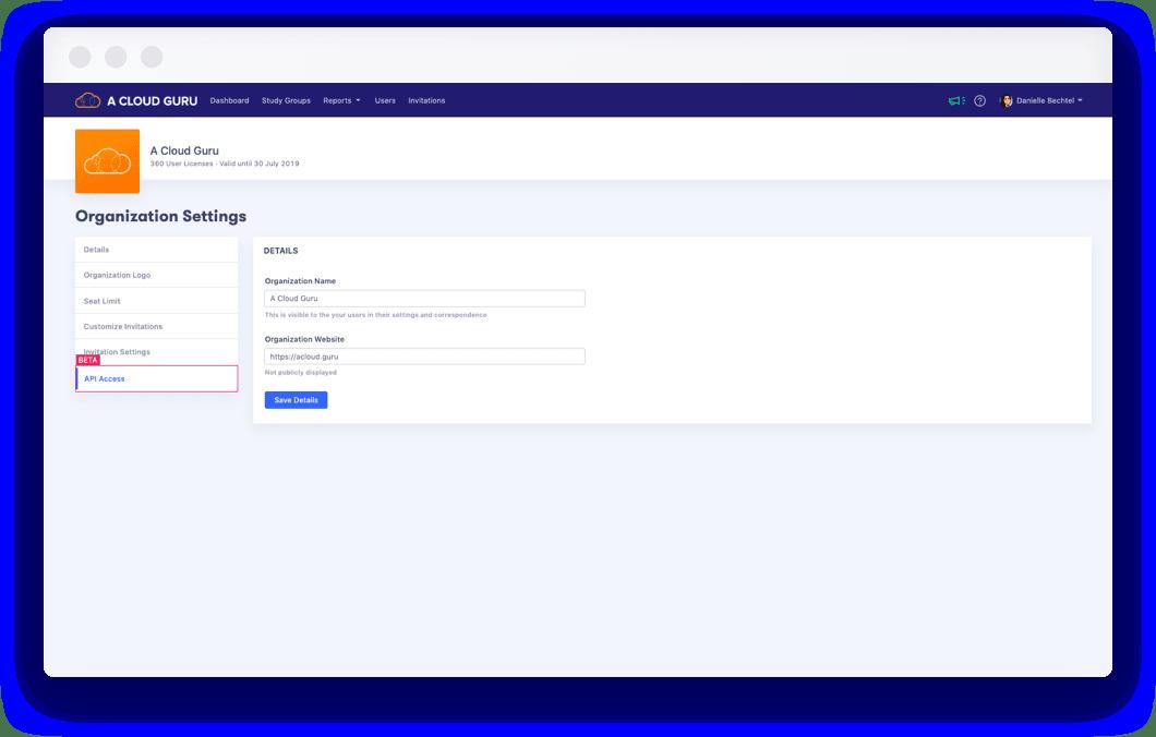 API Beta
