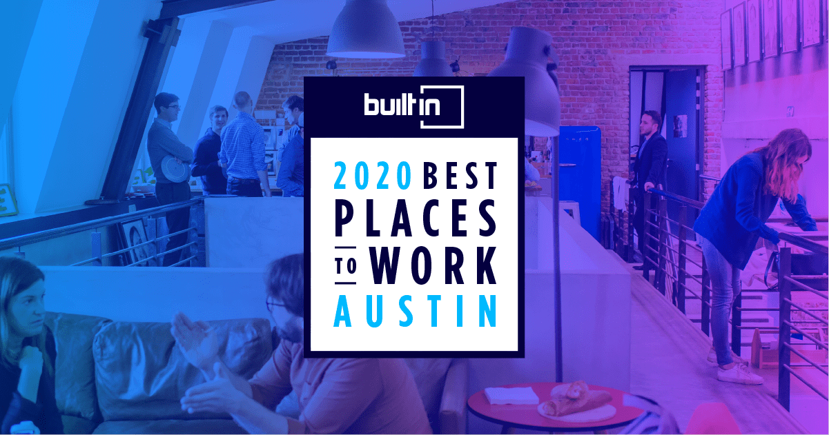built in - 2020 best places to work Austin