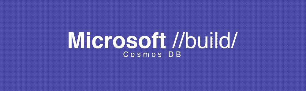 microsoft build cosmos db