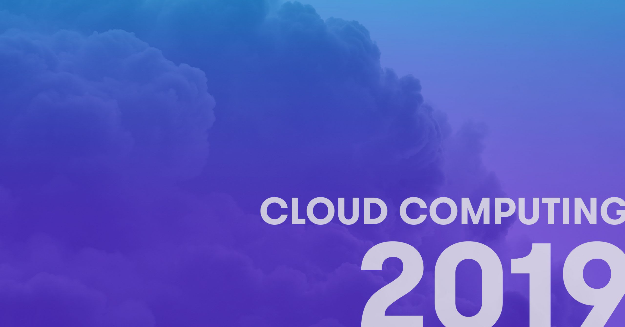 cloud computing 2019