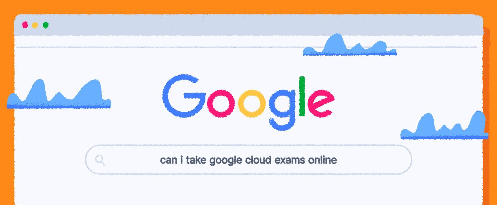 Google remote proctoring