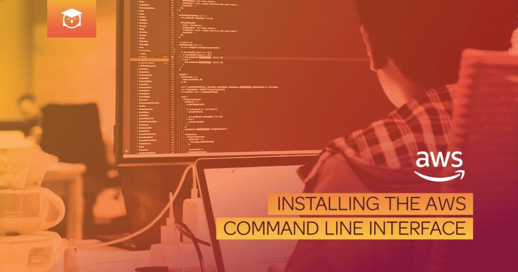 installing AWS command line