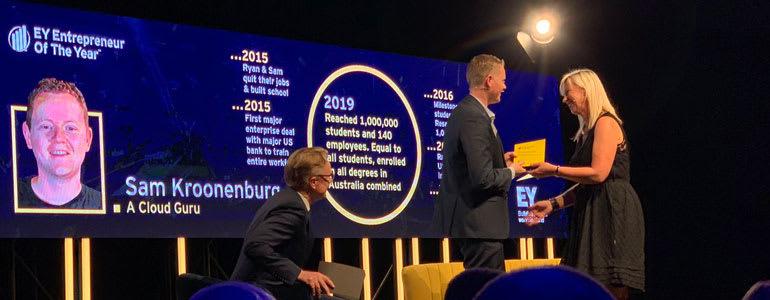 Sam - EY Entrepreneur Of The Year Award