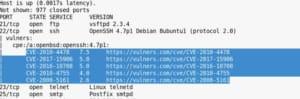 nmap script vulnerabilites