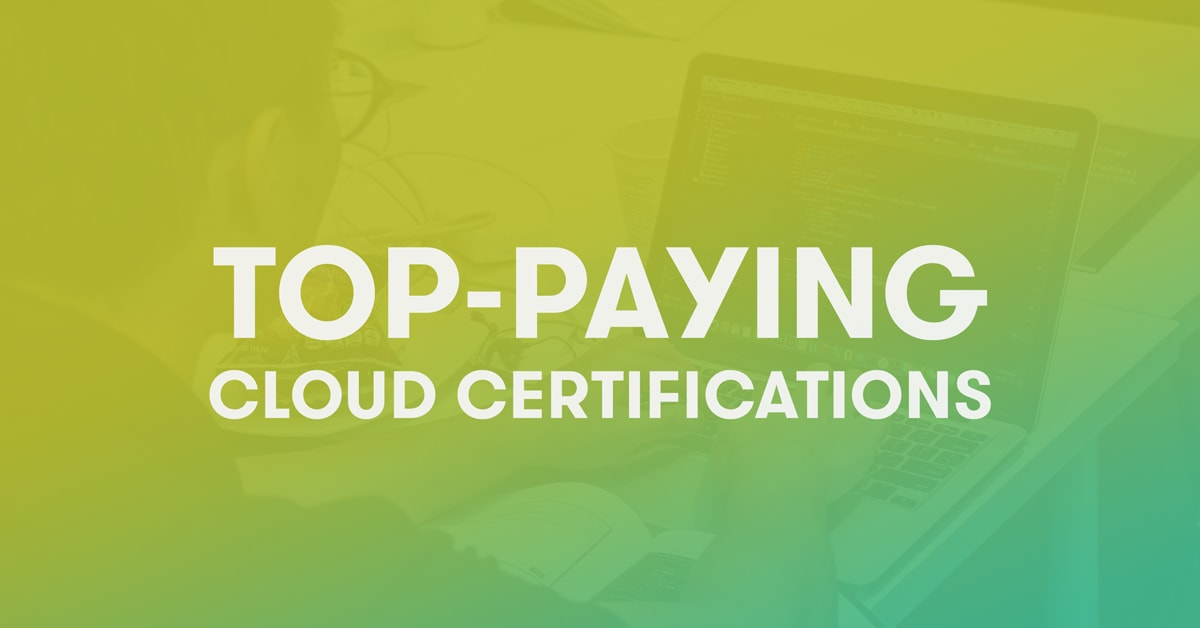 top-paying cloud certifications