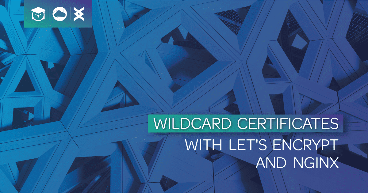 wildcard certificates - with let's encrypt and nginx