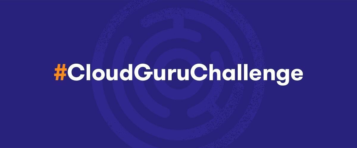 Cloud Guru Challenge