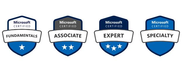 Microsoft Azure certification levels
