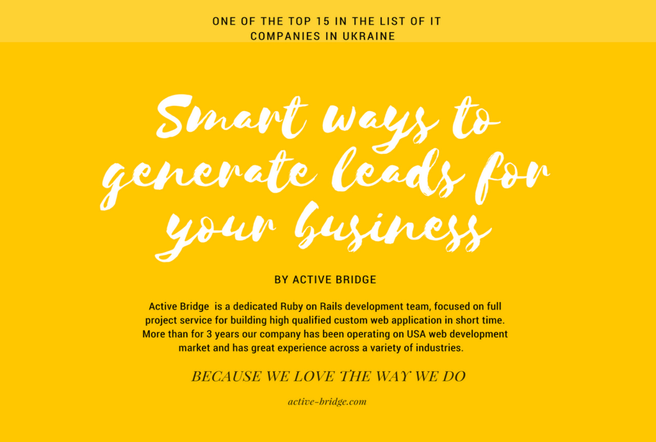 enerate New Leads for Your Business