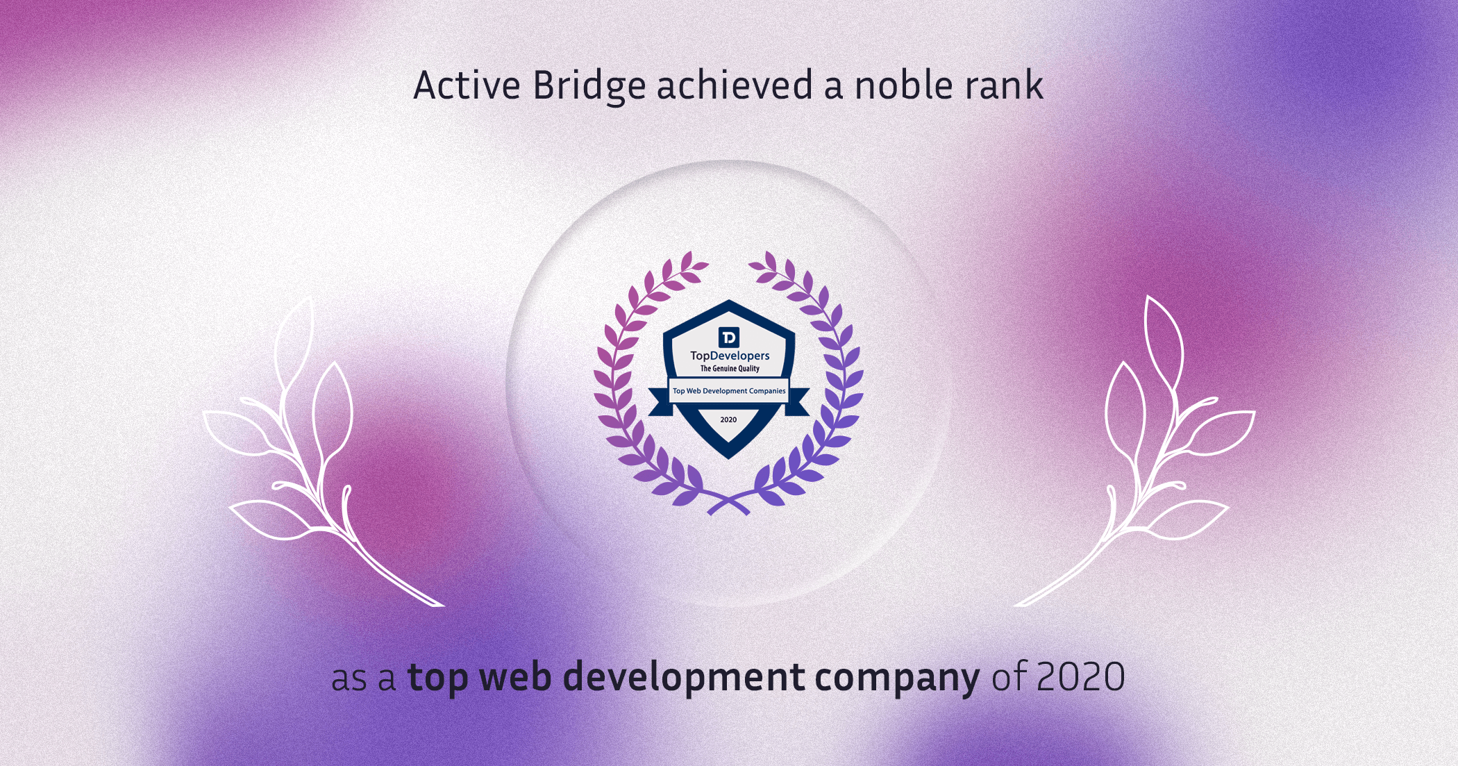 Active Bridge listed as TOP web development company