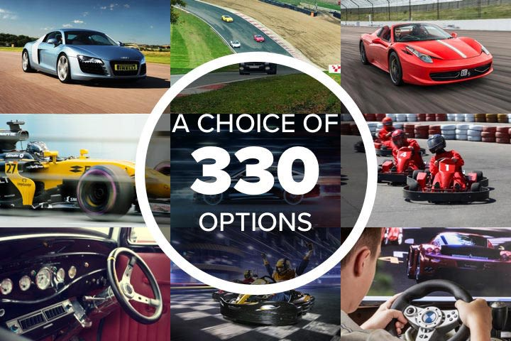 Mega Choice for Driving - Experience Day Voucher