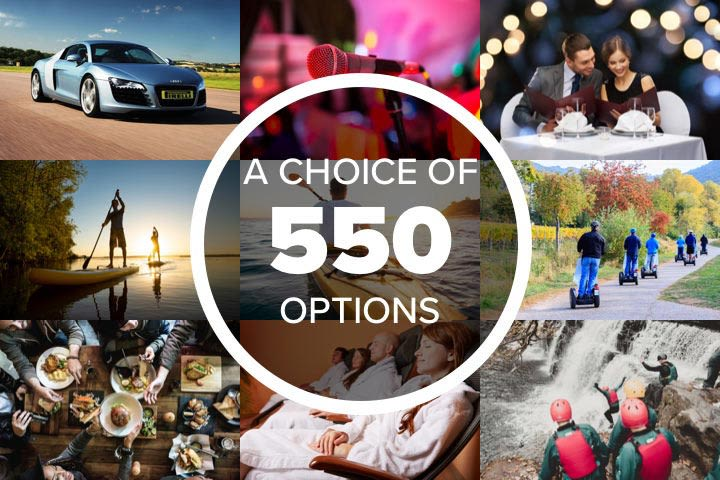 Mega Choice for Him - Experience Day Voucher