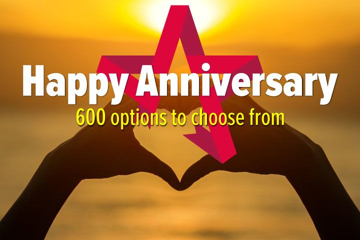 Happy Anniversary - Experience Day Voucher