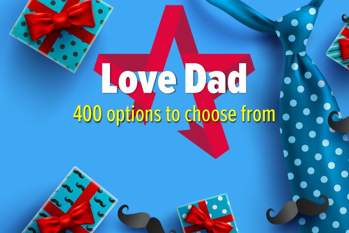 Love Dad - Experience Day Voucher