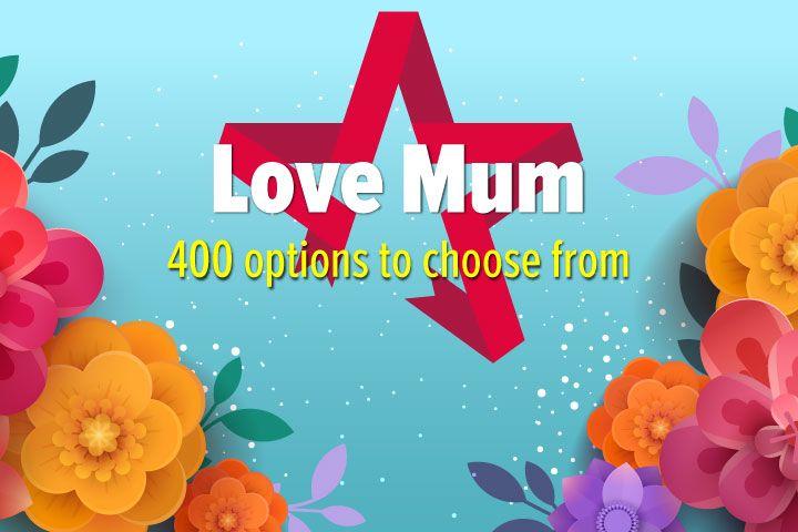 Love Mum - Experience Day Voucher