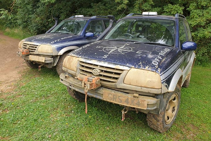 4x4 Taster at Silverstone Rally School