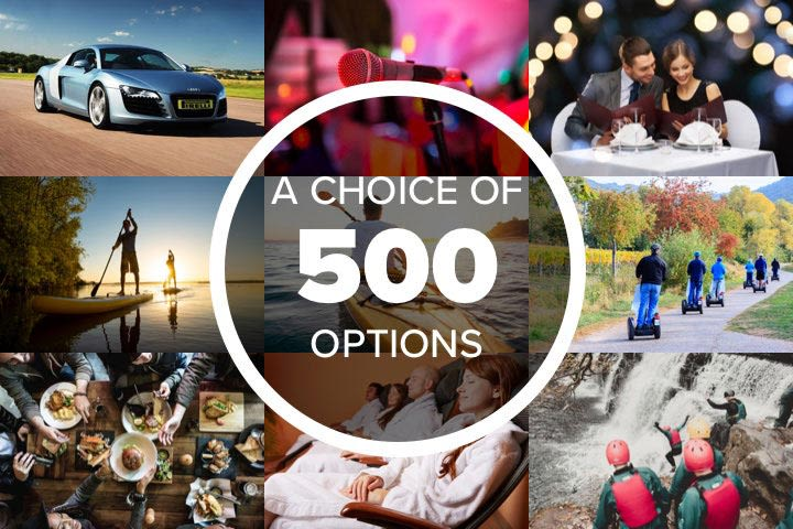 Mega Choice for Fun - Experience Day Voucher