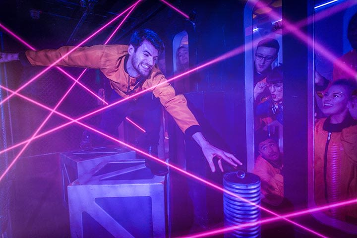 Crystal Maze Manchester for Two