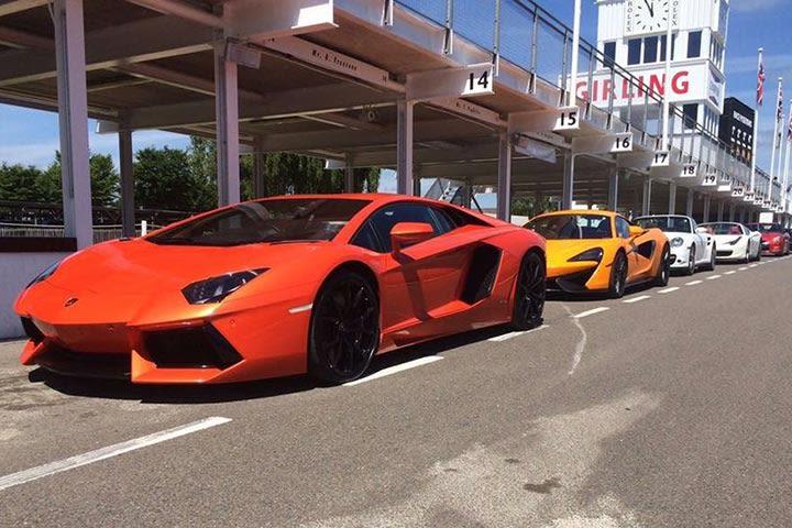 Supercar Thrill at Goodwood