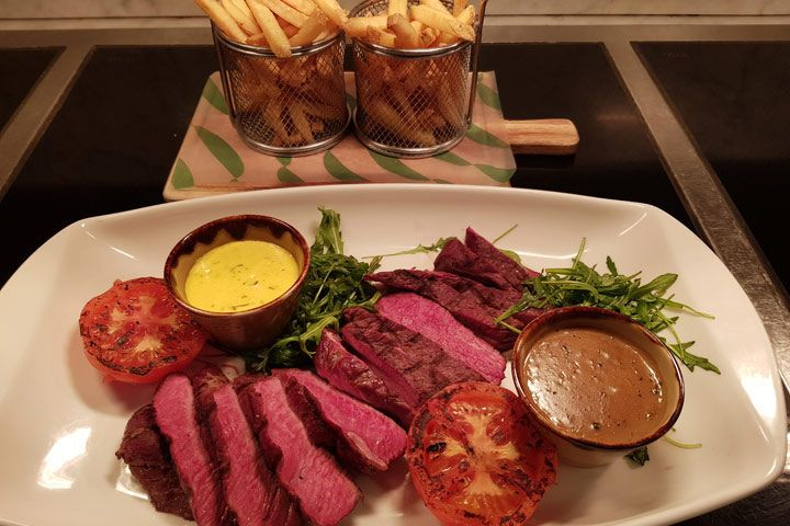 Three Course Dining with Bubbly for Two at Urban Meadow Café & Bar
