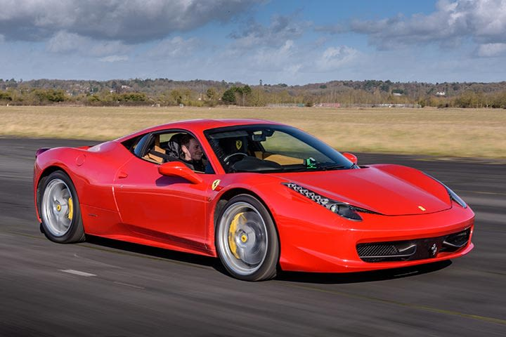 Supercar Blast and High Speed Passenger Ride for Two