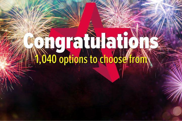 Congratulations - Experience Day Voucher
