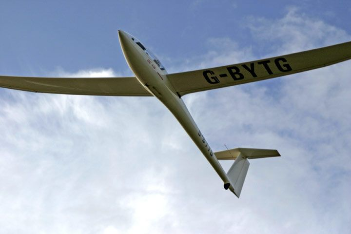 Gliding with an Aerotow