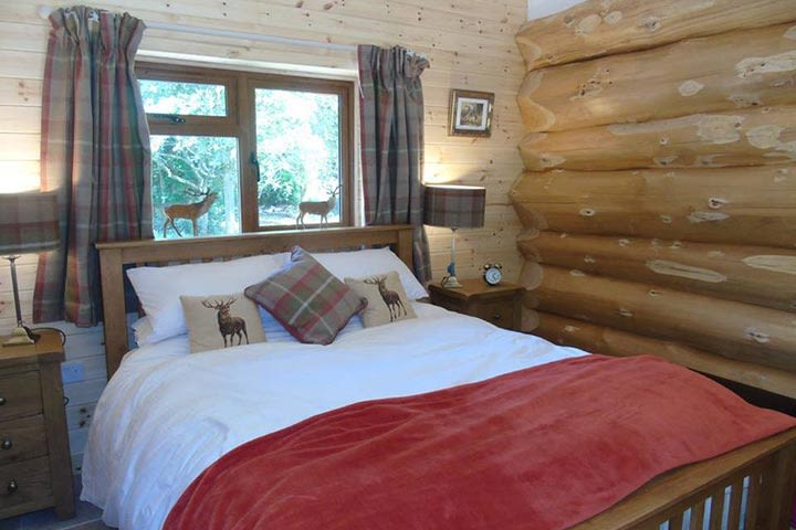 Two Night Stay in a Log Cabin at Badgers Wood, Hoo Zoo and Dinosaur World