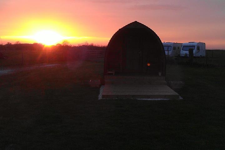 Two Night Camping Pod Break at Yapham Holds