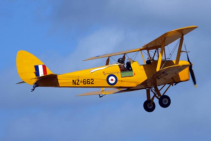 Tiger Moth and Tank Day