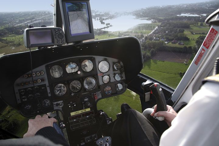 25 Mile Helicopter Flight