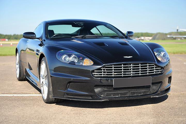 Aston Martin DBS Hot Lap Passenger Ride