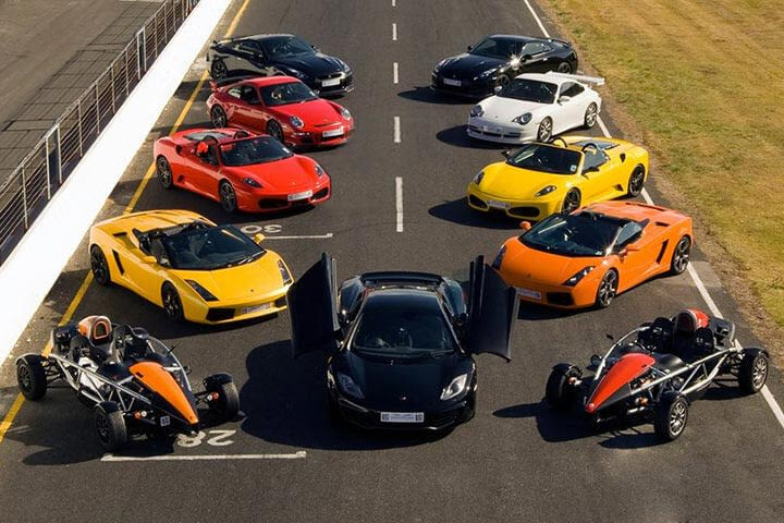 Triple Supercar Driving Experience - On Track Driving Adventure 2020