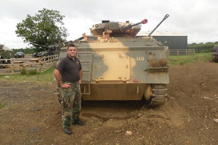 Tank Driving Taster