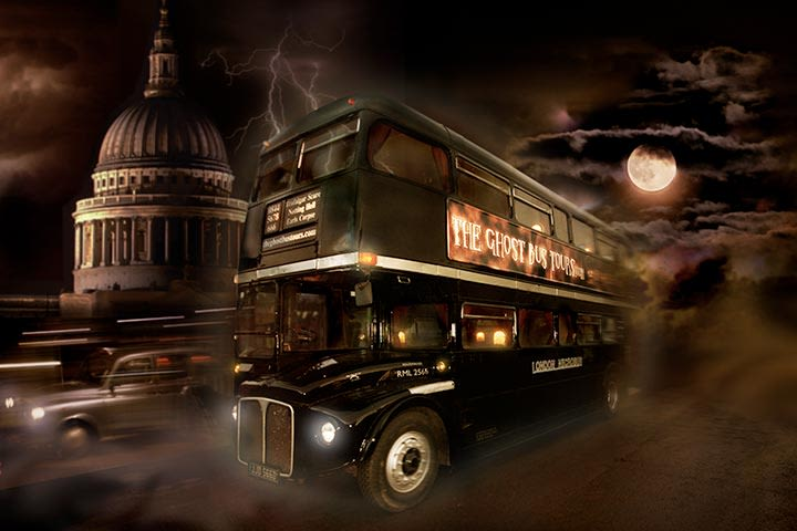 Ghost Bus Tour & Guide Book for 2