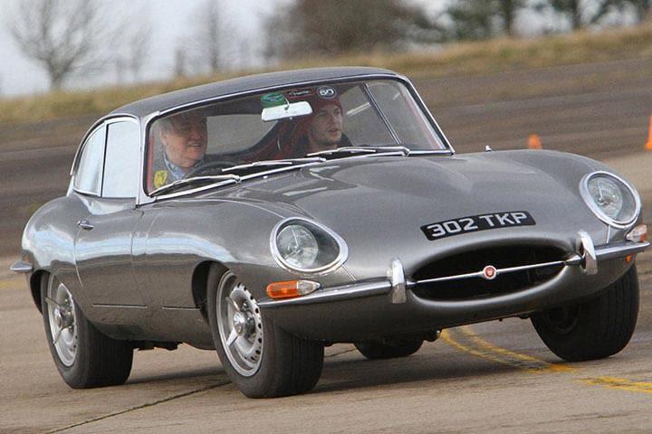 Jaguar E Type Thrill