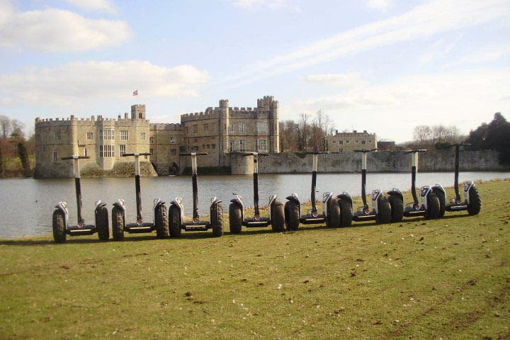 Segway Tour of Leeds Castle for 2