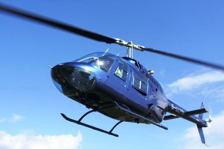 Shropshire Helicopter Tour