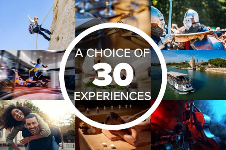 Making Memories for Two - Experience Day Voucher