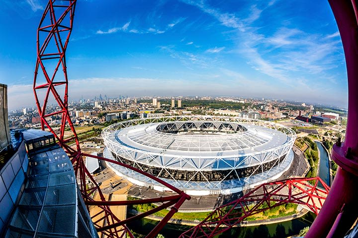 The Slide at ArcelorMittal Orbit and a Bottle of Prosecco for Two