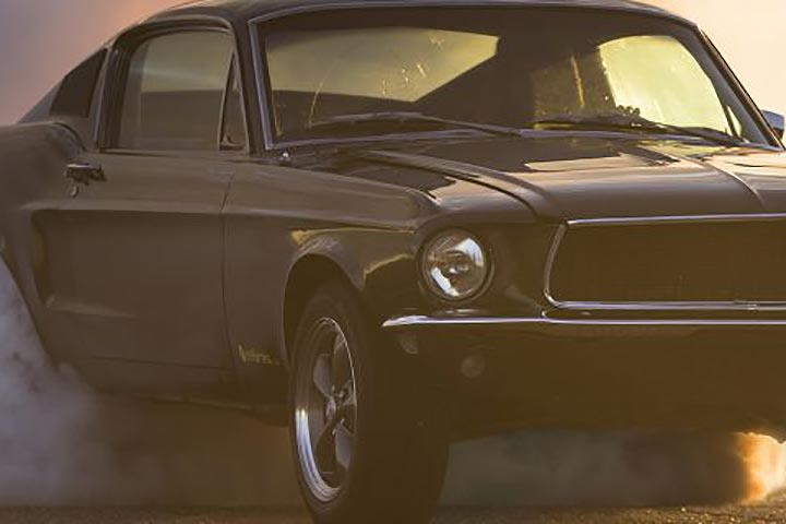 Ford Bullitt Mustang Driving Experience