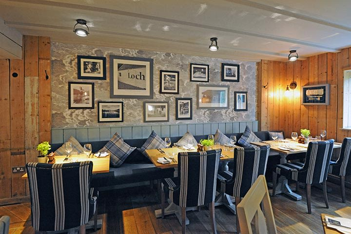 Seafood Dining at Loch Fyne