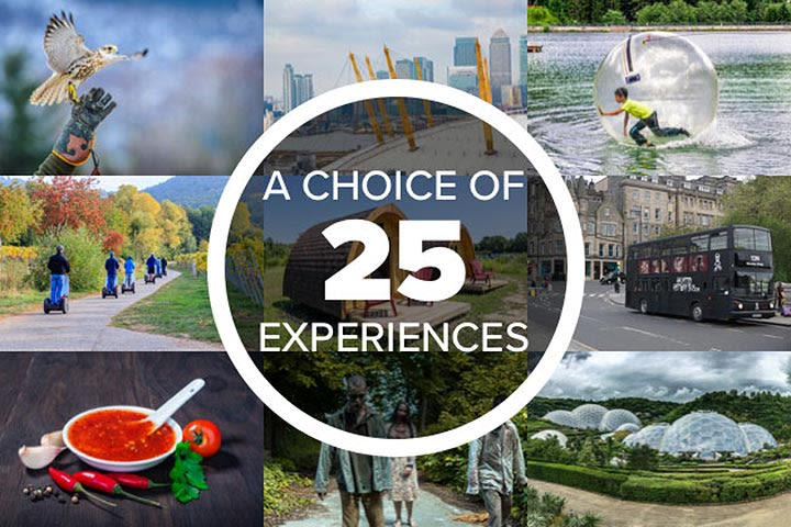 Unique Things to Do - Experience Day Voucher