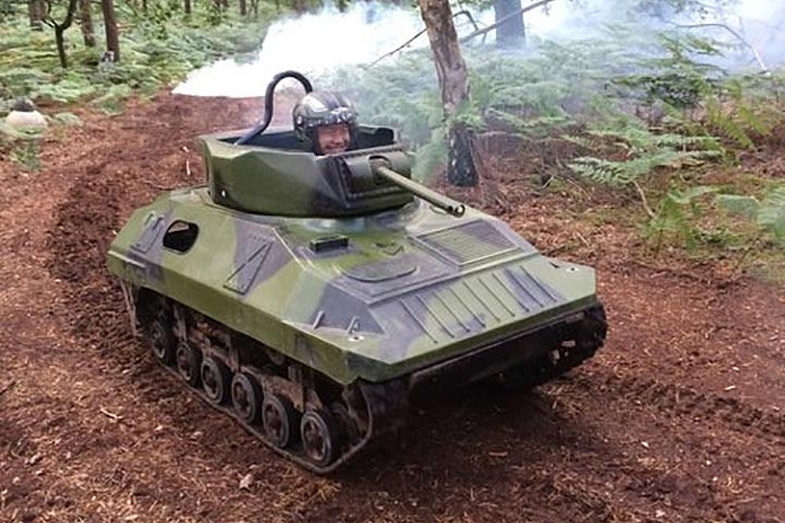 Mini Tank Experience for Two